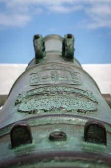 Portuguese cannon that rested on the bottom of the sea for 300 yrs.