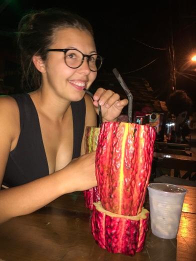 Cocoa caipi